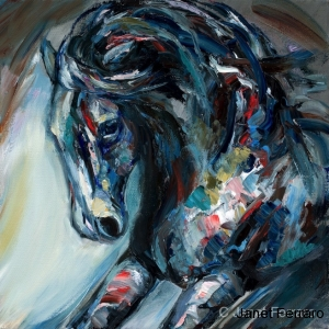 Equine Abstract 4