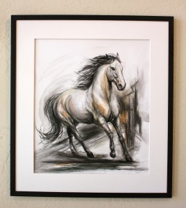 Horse power! This powerful horse is full of energy and 'Unbridled Passion'!