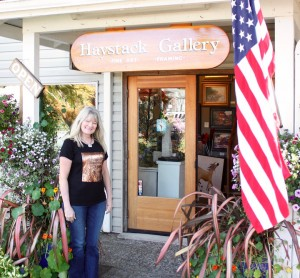 We made it to the gallery in Canon Beach, Oregon. The owner was so lovely and her gallery really has a beautiful selection of original art.